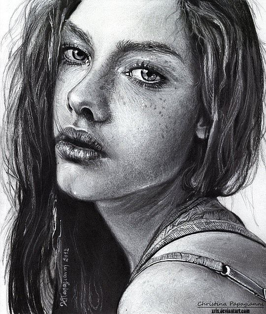 Realistic Portraits by Christina Papagianni