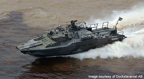barco de combate 90 es una embarcación de asalto militar rápida. - Imagen - Tecnología Naval