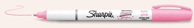 Sharpie Paint Pens   Glitter Paint Markers