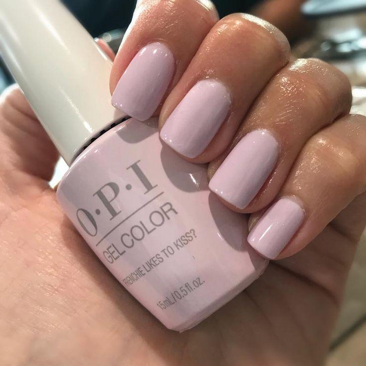 Obsessed Opi Gel Nails Pink Gel Nails Opi Nail Colors