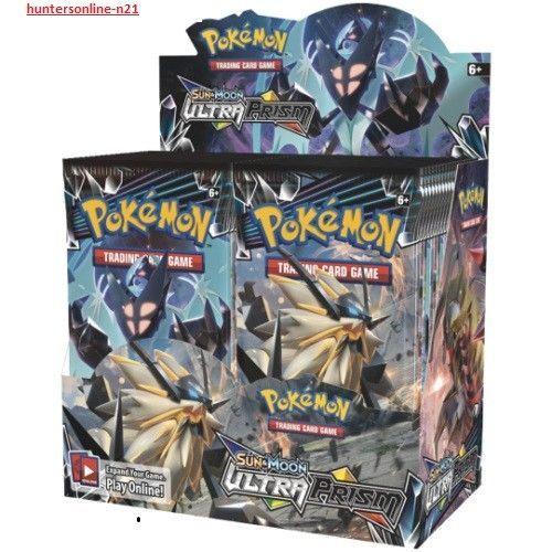 POKEMON SUN AND MOON 5- ULTRA PRISM BOOSTER BOX 36 pks #Pokemon