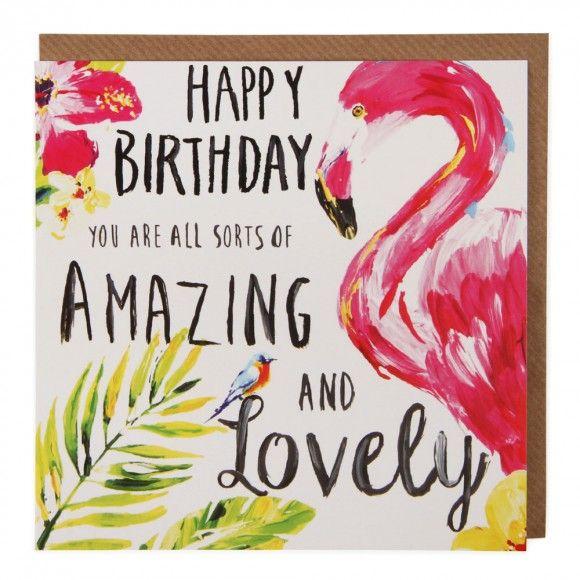 21aeac6554b1cd00e1a69253dc03f61e flamingo birthday card birthday 105 best birthday images on pinterest anniversary cards, bday