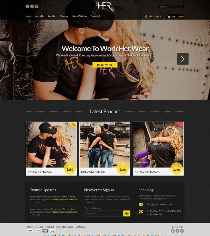 """Check out my @Behance project: """"WorkHerWear"""" https://www.behance.net/gallery/32130833/WorkHerWear"""