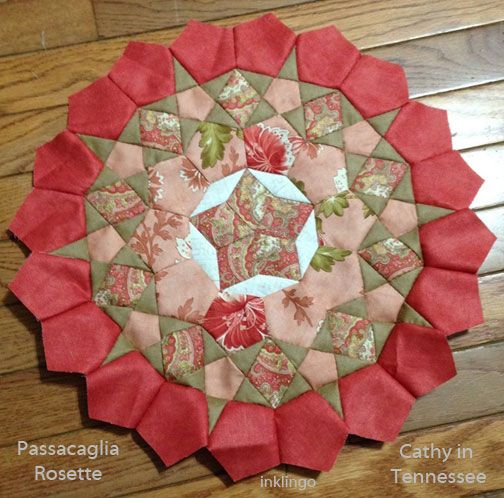 Passacaglia Rosette by Cathy in TN