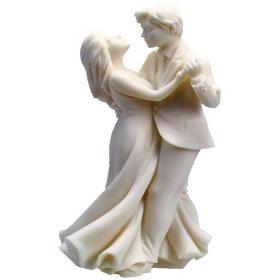Brautpaar tanzend, 12cm