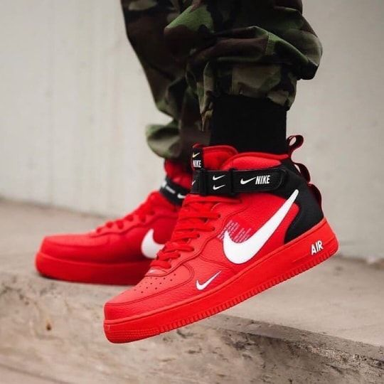 NIKE AIR FORCE 1′ H LV8 – Fette Schuhe, Sneakers, Stiefel und Boots