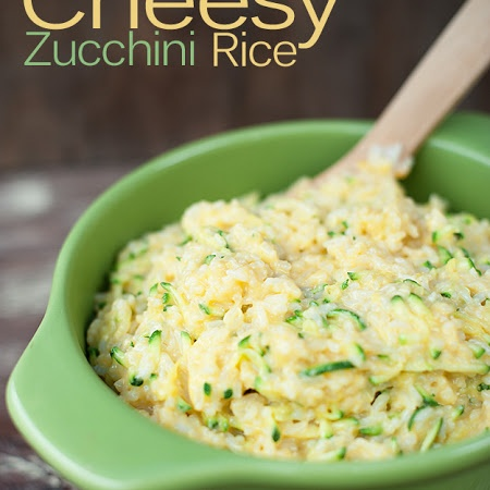 Cheesy Zucchini Rice- this was really tasty but extremely cheesy! May cut back on the cheese next time.