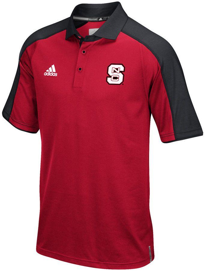 adidas Men\u0027s North Carolina State Wolfpack Sideline Polo Shirt - Sports Fan  Shop By Lids - Men - Macy\u0027s