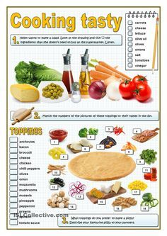 750 best english activities images on pinterest english lessons here you are three activities related to food and preferences first the students listen to a conversation about how to make a salad forumfinder Images