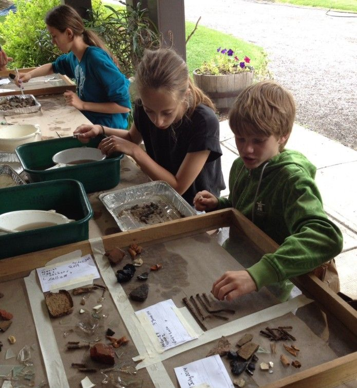 Because children doing archaeology is amazing.
