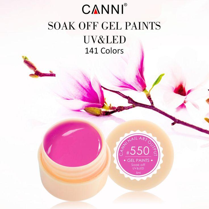 #50618  CANNI UV Gel Paint 141 colors 5ml Nails Gel UV Colors