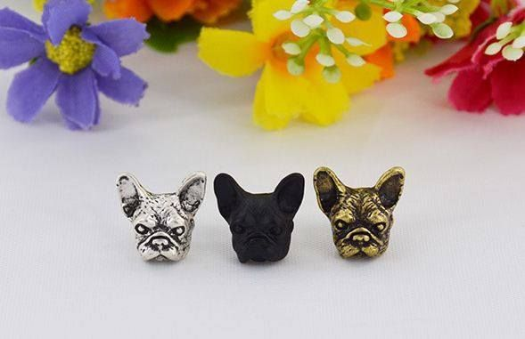 """Chic """"Allie"""" the French Bulldog Studs from eFizzle"""