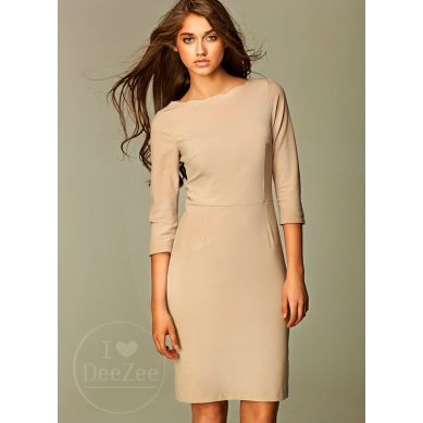 Sukienka Ripple Strand Beige Dress