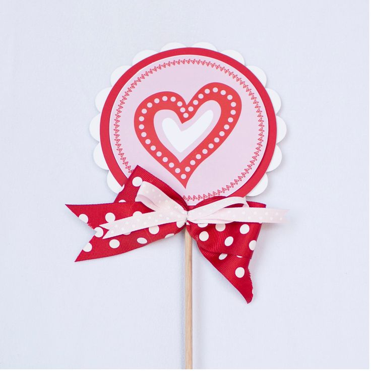 Lollipop Decoration - Valentine's Day