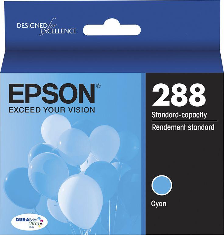 Epson - 288 Ink Cartridge - Cyan (Blue), EPSON INK T288220-S