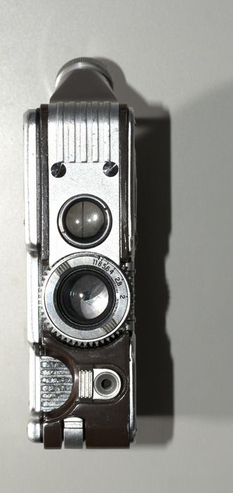 Auctioned off through Catawiki:  Goerz Minicord 1 16mm subminiature camera, working shutter and aperture