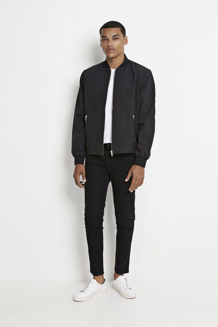 Shop the Real Jacket 1480 in black online and in stores! #wearecph #ss17 #copenhagen #streetwear #mensfashion #menswear #streetstyle #ootd
