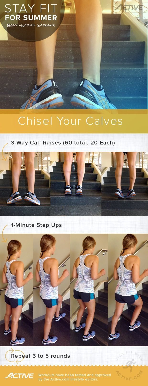 Stay Fit for Summer: Chisel Your Calves
