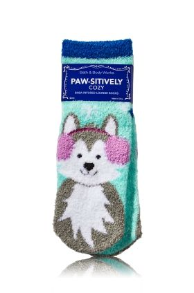 Paw-sitively Cozy Shea-Infused Lounge Socks - Bath & Body Works   - Bath & Body Works