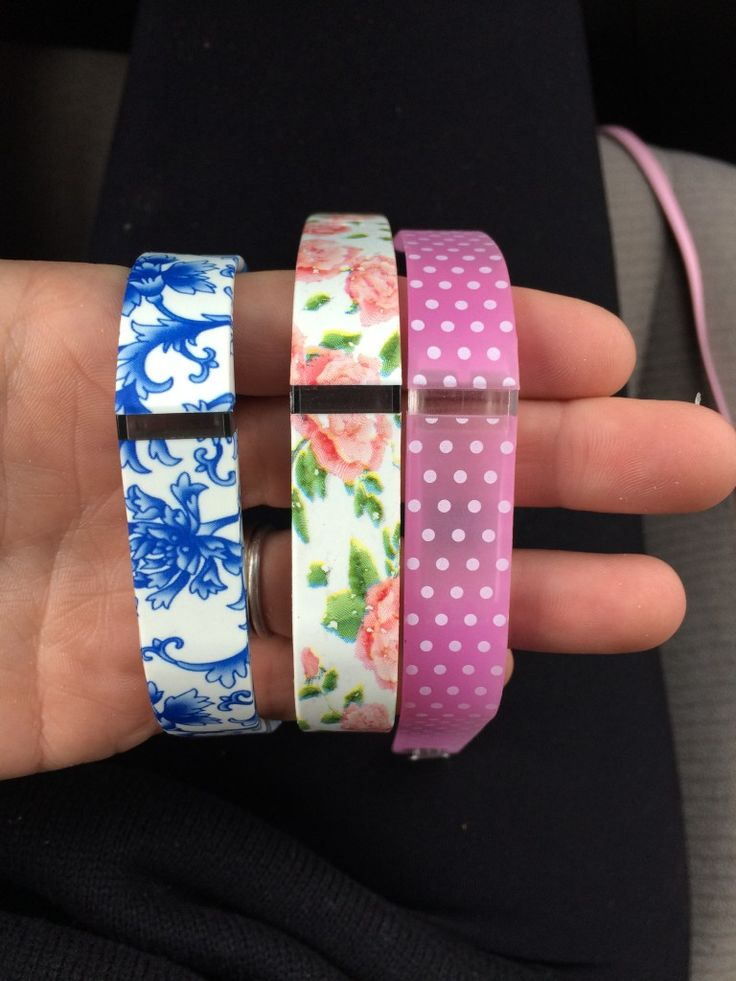 Pretty Fitbit Bands $8 for all three.