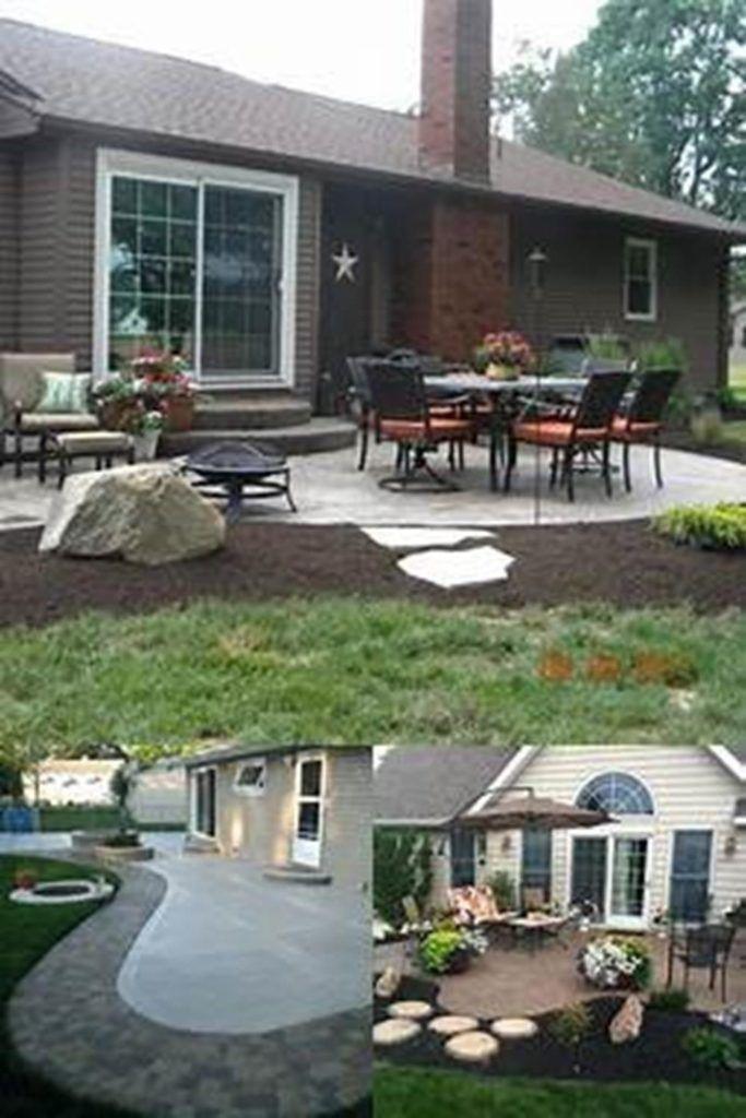 9 Backyard Patio Ideas With Concrete Small Concrete Patio Design Ideas Emsatcorp Concrete Patio Designs Backyard Patio Patio Pavers Design