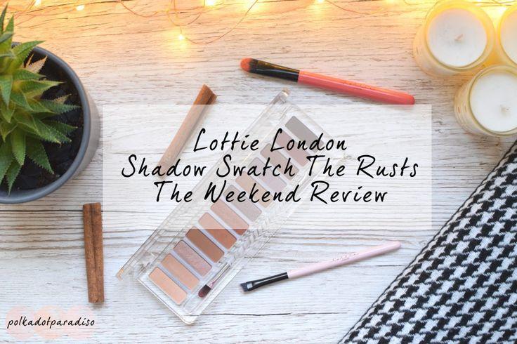 Lottie London palette review | Urban Decay Urban Heat Dupe | Beauty Blogging | Beauty Review
