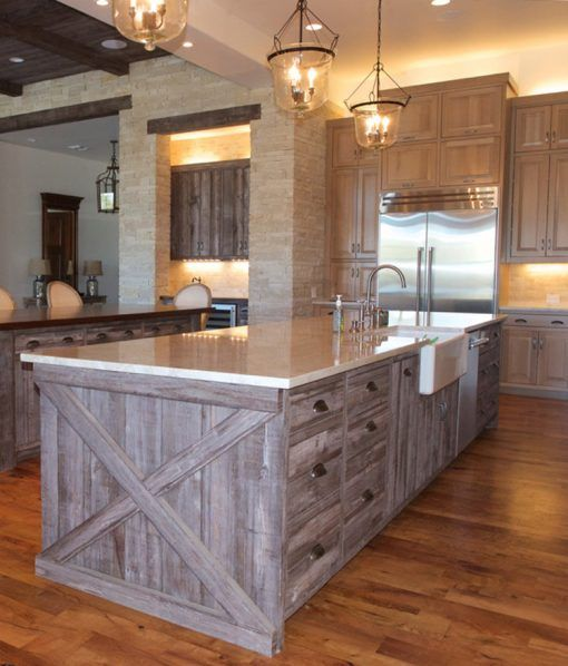 Barnwood™ Siding | Barn Gray | Kitchen Designs in 2019 ...