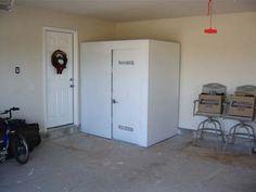 Family Safe Shelters - storm shelter garage install tornado shelter / panic room ABOVE GROUND