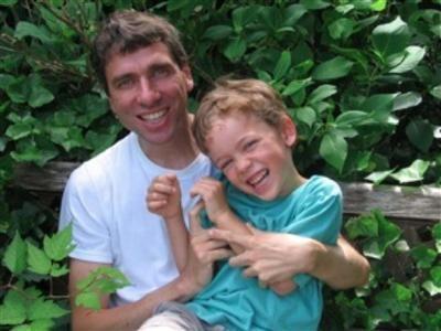 My son and I are joyously close.  I love him to bits.