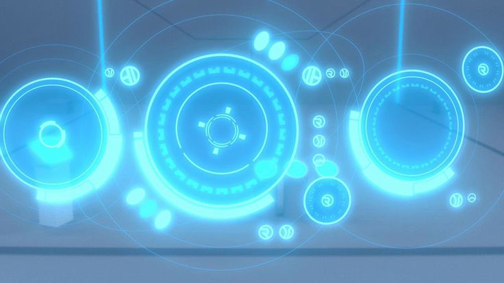 "Cycles: Umbaran Holographic UI (Known to the nonnerds as ""Awesome glowing circles"") on Vimeo"