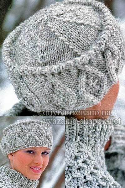 Kubanka\'s hat with knitting needles | Stricken + Häkeln | Pinterest ...
