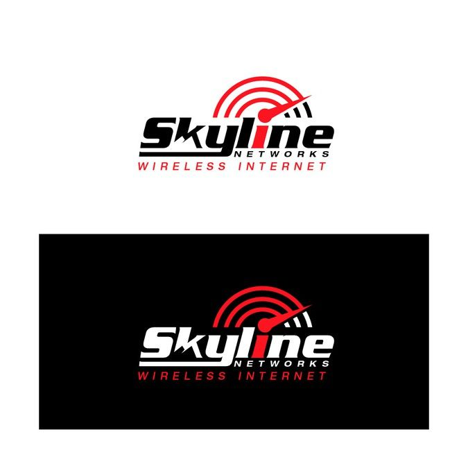 Create an eye-catching logo for wireless internet provider by Kas_Ra