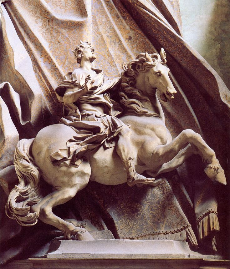 Constantine the Great by Gian Lorenzo Bernini