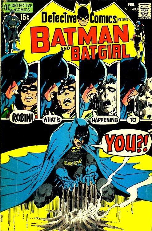 Detective Comics #408, February 1971, cover by Neal Adams