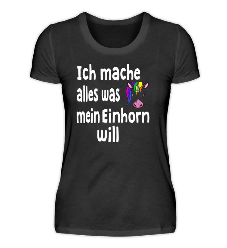 Einhorn Shirt lustiger Spruch Geschenk