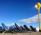 エチオピアへの信頼性の高いエネルギーを持って来る巨大チューリップ型太陽工場