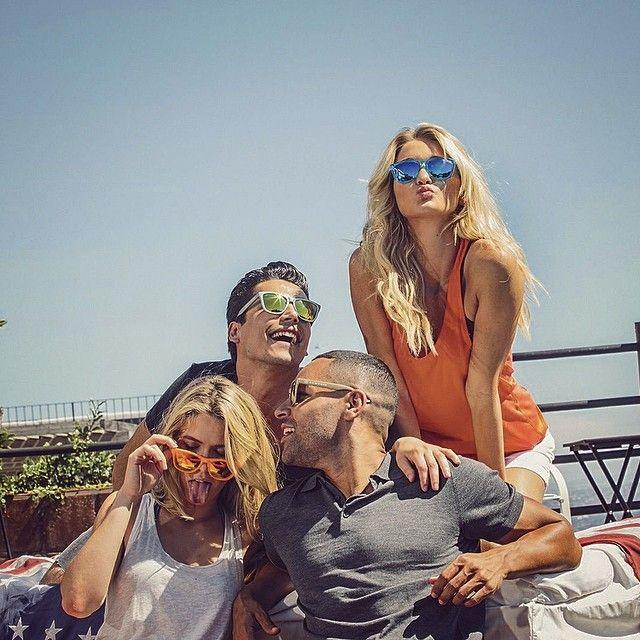 😝😄😁😙 #hawkersco #sunglasses