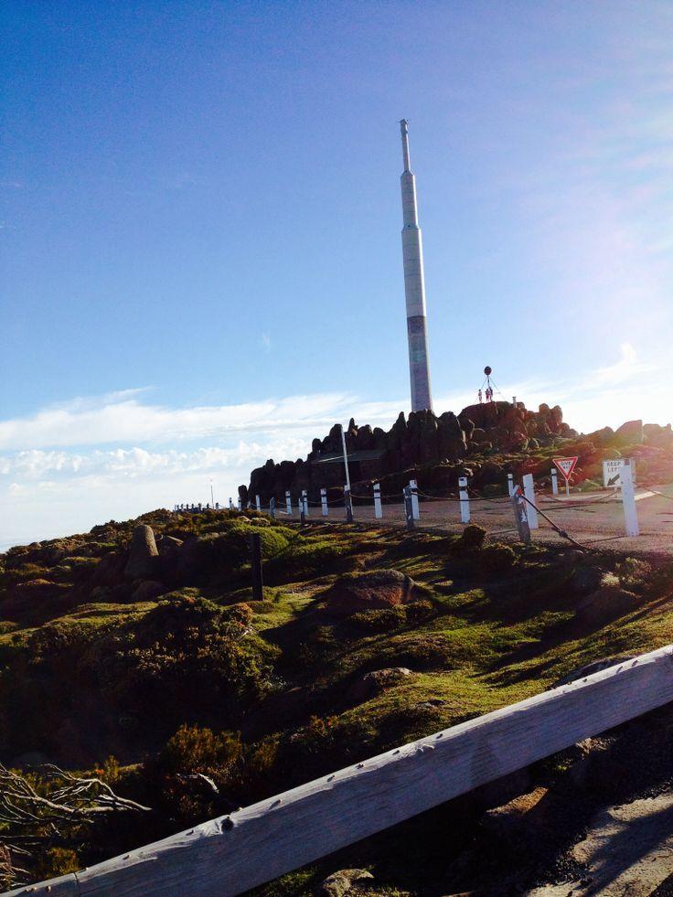 Mt. Wellington in Tassie ,visually walking in the cloud. Great! #Tasmania