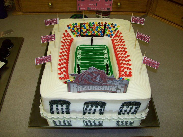 Arkansas Razorback Wedding Cakes