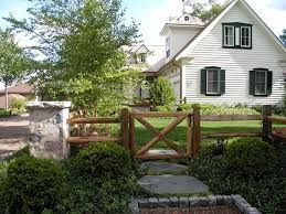 Image result for rustic fence and gate