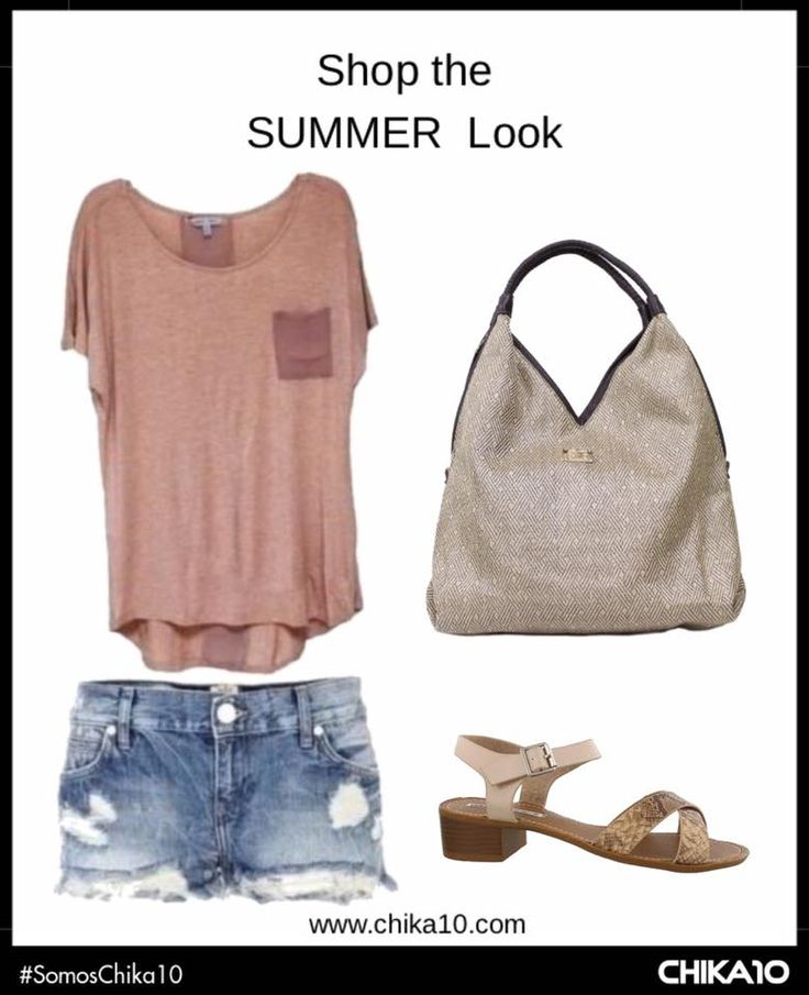 Outfit summer, fashion, casual, jeans, día. Bolso y sandalia Chika10.