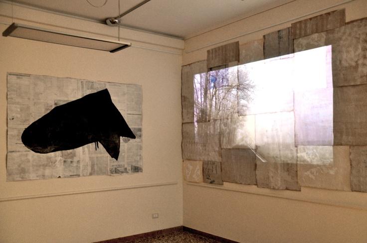 "108 - EXHIBITIONS AND WORKS AROUND THE WORLD: ""L'inverno delle forme"" - Installation, Schio 2012."