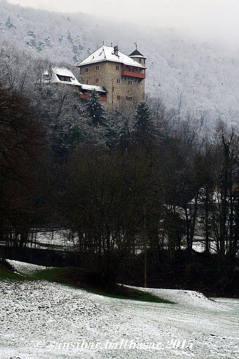 Metzerlen-Mariastein, Schloss Rotberg (Dorneck) Solothurn CH