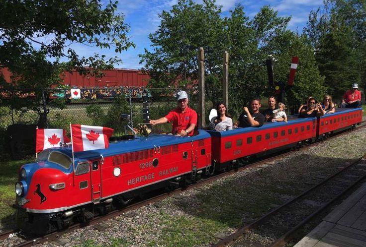 Heritage Train, North Bay