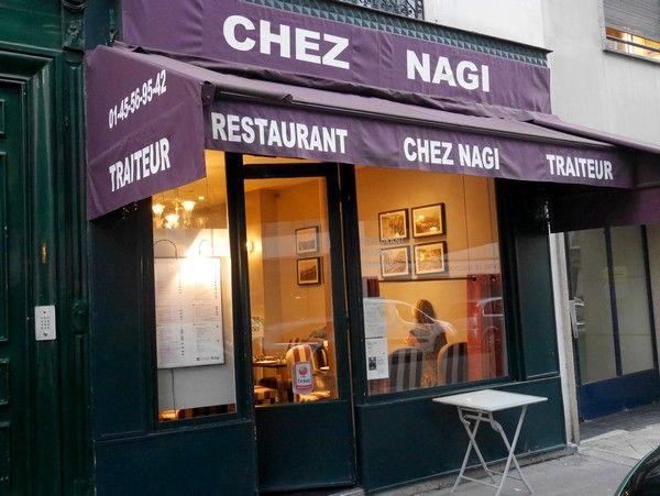 La meilleure façon de tester un restaurant libanais, c'est encore d'y aller avec un Libanais. Mon ami André Zahar m'a suivi chez Nagi. Nagi comme Nagi Farès, originaire de Chouf, qui a notamment travaillé au Crillon Période Jean-François Piège. L'endroit buzze sévère dep