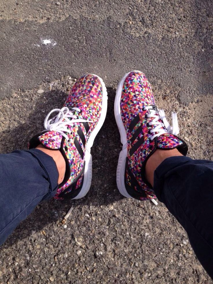 Adidas Zx Flux Multicolor Purple