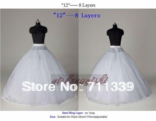 Flower Girl Dress Petticoat Crinoline Underskirt  Short Brida Skirt Slip Wedding