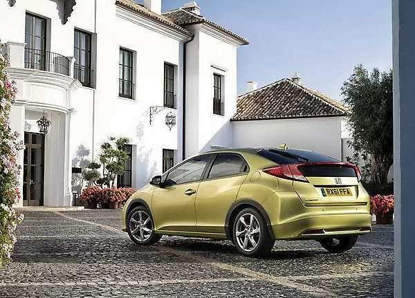 2018-2019 Honda Civic Hatchback — 5-door 2018-2019 Honda Civic for Europe