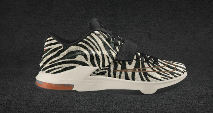 timeless design f6b8e 627c0 ... best price kd 7 pony hair id animal leopard print white black 597c1  bf6e3
