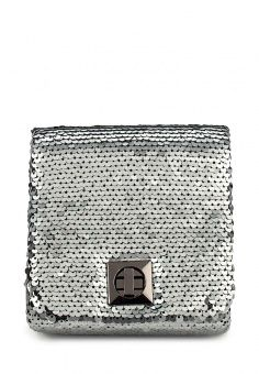 Клатч, Eternel, цвет: серебряный. Артикул: ET005BWOGC92. Женские аксессуары / Сумки / Сумки через плечо